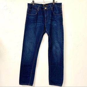 Zara Man Denim Straight Leg Jean size 36